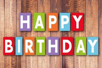 7 razones para celebrar un cumpleaños
